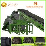 Strenger Qualitätskontrolle-Abfall-Gummireifen-Ausschnitt und Wiederverwertungs-Gerät für Verkauf