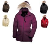 Delle donne di inverno cappotto caldo della prova del vento di cappello del rivestimento giù
