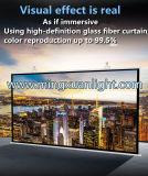Falten-fasten weißer motorisierter Projektor-Bildschirm-elektronische Projektions-Mattbildschirm
