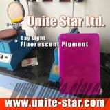 Pigment Fluorescent Jour Lumière Jaune Limon pour Impression Textile Colle Couleur