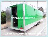 Fast food móvel Van do caminhão do restaurante da alta qualidade para a venda