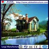 Het geprefabriceerde Huis van de Container van de Cabines van het Staal voor Privé het Leven Aanpassing met het Comité van de Muur