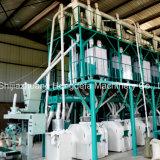 Das Mais-Mais-Mehl beenden, das Maschinen-Prägetausendstel bildet