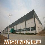 Año 2017 la construcción de la estructura de acero prefabricados