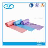 Подгонянные пластмассой мешки отброса цвета