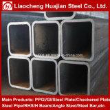 Grand dos courant de carbone et pipe en acier rectangulaire avec le certificat de GV