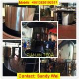Hoja de acero inoxidable del espejo de AISI que graba al agua fuerte 304 para el edificio de la cocina del elevador