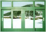 Moderner Entwurfs-buntes Aluminiumprofil-schiebendes Fenster