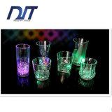 Favore di partito di vetro infiammante chiaro luminoso della tazza LED della tazza luminosa