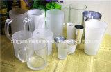 tazza bianca glassata 11oz di vetro del rivestimento