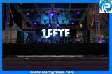 AluminiumLighting Truss mit Portable Smart Stage Relais
