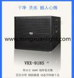 Sistema de áudio da caixa de som do subwoofer Vrx918s