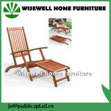 Salas de estar ao ar livre Foldable de madeira do Chaise