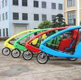 Veloのタクシー電気Pedicab 48V 1000Wの三輪車、バイク、スクーター