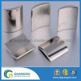 Néodyme matériel magnétique de bore de fer de forme d'arc pour des moteurs de ventilateur