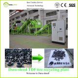 para a capacidade elevada da venda para 8 toneladas de microplaqueta de borracha por a hora que recicl a máquina