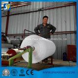 Rouleau de papier hygiénique faisant la machine avec le type se pliant gravant en relief