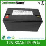 12V 80ah LiFePO4のBMSの電気オートバイ電池