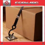 Cuadrado grande de acero galvanizado D Anillo de Carga de amarre del ancla, Planta de montaje en superficie de montaje empotrada Pan