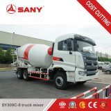 Sany Sy309c-8 건축 Equiupment 9m3 중국 구체 믹서 트럭