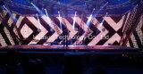 유연한 LED 커튼 P37.5 의 발광 다이오드 표시 (FLC-700) /Stage 연약한 배경막