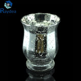 Al por mayor de galvanizado de oro florero de cristal
