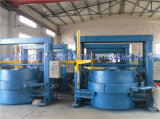 기름 난방 분단된 타이어 재생 기계 선 타이어 가황 기계