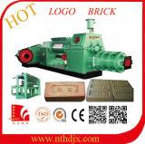 Máquina caliente del ladrillo de la arcilla de la exportación de la India, Nepal para el ladrillo de la insignia