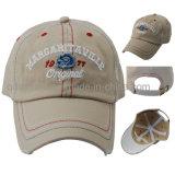 Contraste lavada gruesa Puntadas Encuadernación bordado golf del deporte gorra de béisbol ( TM0332 )