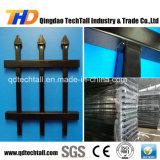 Decoratiive 용접된 상업적인 강철 담 또는 장식적인 금속 담