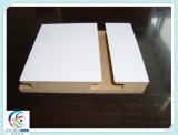 11 Grooves Slotted MDF Board for Office / Hôtel / Home Furniture