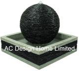 標準的な球の形のDecortive Polyresinの屋外の庭水噴水