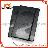 PU Leather Moleskine Diary Notebook com logotipo Debossed (PUN403)