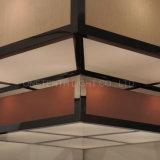 Illuminazione Pendant del Brown della tonalità beige quadrata del tessuto al banchetto Corridoio