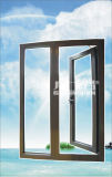Aluminium Windows extérieur avec le guichet fixe