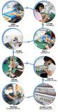 Drahtlose Ferncontroller-Energie und Kugel-Edelstahl-Ventil der Kugel-Zelle-Cwx-15n elektrisches