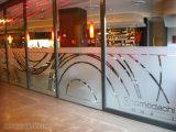 Decorare la pubblicità dell'autoadesivo tagliato glassato vetro del negozio/ristorante/Camera con l'abitudine