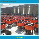 Tipo máquina manual de la cacerola Jw750 de la construcción del mezclador concreto