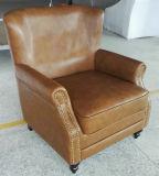 Tabaco silla de cuero Color, Silla de Cigar Club, el Hotel Presidente (A888)