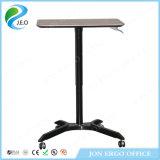 Höhen-justierbares Gas-anhebender Laptop-stehender Schreibtisch mit Rädern (JN-SD115)