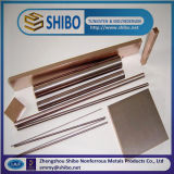 Tungsten Copper Alloy Rod, Professional W-Cu Alloy