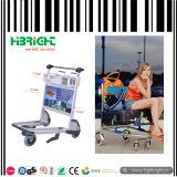 Übertragung der Gepäck-Flughafen-Laufkatze-Karre