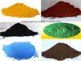 緑か赤くまたは黒くまたは黄色熱い販売の鉄酸化物か顔料のための青またはブラウン