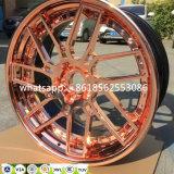 Бронзовый Chrome Легкосплавные колесные поддельных колесных дисков с помощью Jwl