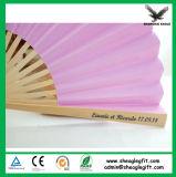 De uitstekende kwaliteit paste de Grote Ventilators van de Hand van het Bamboe van de Grootte voor Gift aan