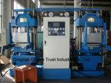 Nova placa técnica de borracha automática de vulcanização / máquina de vulcanização de borracha (CE / ISO9001)