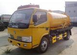 5000のL Dongfeng 4X2の熱い販売5立方メートルの下水の吸引のトラック