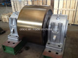 BV、SGS、ISO9001が付いている回転楕円面状鋳鉄の上部転輪: 2008年