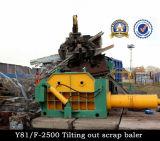 Presse en aluminium acier-cuivre hydraulique de rebut (Y81/F-3150A)