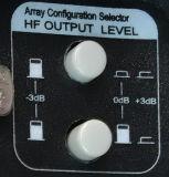 +3dB 0dB -3dBのアンプのモジュールが付いている実行中のスピーカーのアンプのモジュール